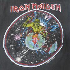 1983 Iron Maiden World Piece Tour vintage t shirt 1983