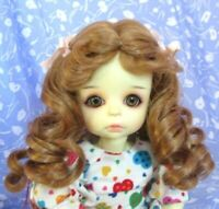 Monique ERICKA LT. Ginger Full Cap Doll Wig Size 8-9 Mid-Length Curly
