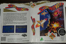 Nintendo NES. Sidewinder (Cover / Instructions only - no game) HES Australian