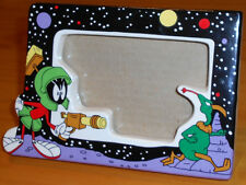 "Marvin the Martian Collectible Ceramic Picture Frame 3.5"" X 5"" (Applause, 1994)"