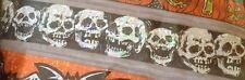 Halloween Nero e Argento Olografico TESCHI Banner