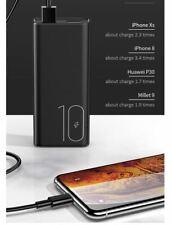 USAMS Doble USB 10000mAh Power Bank Cargador de batería de respaldo externo Teléfono Inteligente