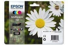 Epson Genuine T1806 18 4-Ink Multipack for Expression Home XP-225 XP-322 XP-422