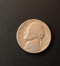5 centavos coin moneda dólar ee. UU jefferson níquel copper cobre 1941