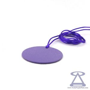 Tesla Purple Plate - Disk 4,5 cm SUNNY