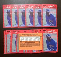 50) KEN GRIFFEY JR. Seattle Mariners 1990 Donruss Baseball LOT Card #365