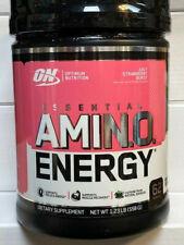 Optimum Nutrition Essential Amino Energy (Juicy Strawberry Burst) 62 servings