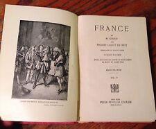 Nations of the World FRANCE vol. V - M.Guizot & Madame Guizot De Witt 1898 Illus