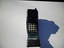 Vintage 1994 Micro DIGITAL Motorola Flip Phone Telephone Model 19709XTR8A W/Case