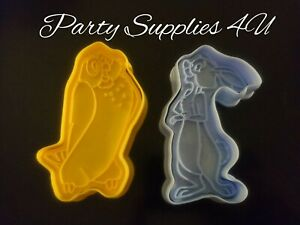 Disney Owl & Rabbit plastic cutter. Biscuits/fondant/cookies/Winnie The Pooh