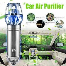 2 in 1 Car Dual Usb Fresh Air Ionic Purifier Oxygen Bar Ozone Ionizer Cleaner Us