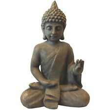Buddha sitzend H53cm Gartenfigur Gartenskulptur Buddhafigur Dekofigur Gartendeko