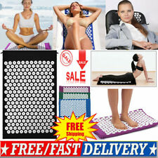 Massage Acupressure Mat Yoga Shakti Sit Lying Mats Pain Stress Soreness Relaxing