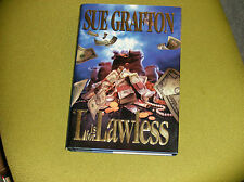 SUE GRAFTON SIGNED BOOK. L IS FOR LAWLESS