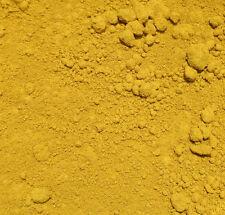 Pigment Oxidgelb - 1 kg Farbpigment Kalk Eisenoxid Fresko Tempera Zement Öl Oil