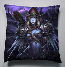 World of Warcraft Sylvanas Windrunner Kissen Sofakissen Pillow Bezug Cover