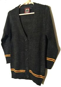 SUPERIOR  QUALITY!  GRYFFINDOR CARDIGAN BUTTON  DOWN SWEATER WOMEN & YOUTH SIZE