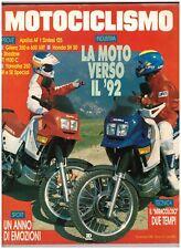 MOTOCICLISMO - 11 1988 - APRILIA AF 1 - HONDA SH 50 - YAMAHA 250 SR SE - GILERA