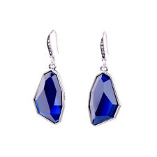 ZARA BLUE GEM  DROP EARRINGS
