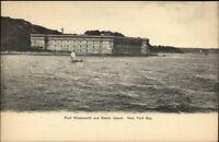 Staten Island NY Fort Wadsworth c1905 UDB Postcard EXC COND
