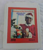 Charley Pride Christmas in my Hometown 8 track Tape