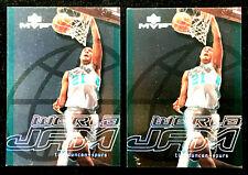 TIM DUNCAN ~ 2000 UD MVP WORLD JAM #WJ9  ~ 2 CARDS  ~ NBA HALL OF FAME INDUCTEE