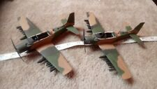 DOUGLAS A-1E SKYRAIDER x 2 LOT A 1/72 SCALE?  BUILT SPARES OR REPAIR