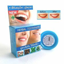Natural Herbal Clove Toothpaste Prim Perfect Intensive Formula for Whitening 5g