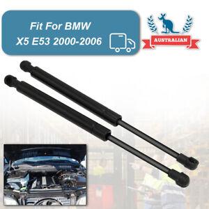 2Pcs New Bonnet Gas Spring Shock Struts Lift Support For BMW X5 E53 2000-2006 AU