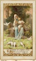 "The Doves of the Infant Jesu–8.5x11"" based on a Vintage Holy Card–Catholic Gift"