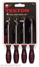 Precision Pick and Hook Set  Pro Grade  Chrome Vanadium Steel 4-pc