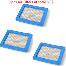 3X Briggs Stratton Flat Air Filter For Cartridge 491588 491588S 5043 399959