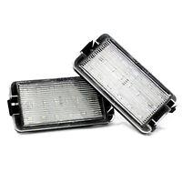 2 X LED Éclairage pour Plaque D'Immatriculation pour Seat Xenon Lumières