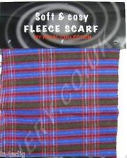 Unisex scozzese plaid quadri Sciarpa - Rosa / Blu/Verde -MORBIDO E COMODO