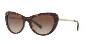 New Coach sunglasses HC8247 (L1039) 541713 53mm Dark Tortoise Brown Gradient
