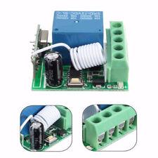 12V 1 Channel Receiver Wireless Relay RF Remote Control Switch DIY Module 433MHz