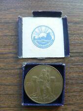 Iceland Medallic 1000 Years Althing Bronze 2 Kronur 1930 UNC In Original Box RRR