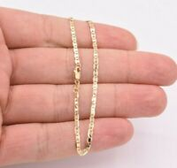 """7"""" Mariner Gucci Anchor Link Chain Bracelet Real Solid 10K Yellow Gold"""