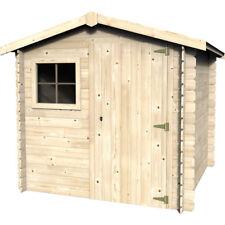 Casetta in legno quadrata casa per attrezzi 209x209 cm Malota