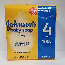 Johnson'S BABY savon au Miel 4 X 100 G