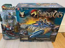 Bandai Thundercats Thundertank unused with snarf, mumm ra figure unused bundle