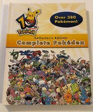 Pokemon Complete Pokedex 10th Year Anniversary Collectors Edition 2006