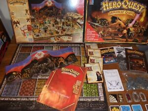 HeroQuest Advanced Quest Master Edition Board Game Hero Quest Unpainted complete
