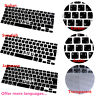 Multi language Silicone Keyboard Cover for MacBook Air Pro Retina Mac 13 15 17""