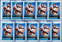 🔥(10) Count Lot 2018 Donruss Rated Rookie #303 Baker Mayfield RC Mint PSA🔥