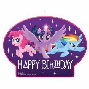My Little Pony Friendship Adventure Birthday Candle (1)