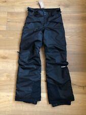 NWT Patagonia Boys Snowshot Pants Black Size Large 12