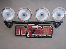 N-FAB Light Bar Light Tabs Textured Black For 09-14 Ford F150/Lobo/Raptor
