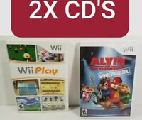 2 X Games: Wii Nintendo: Wii Play | Alvin and The Chipmunks- The Squeakquel
