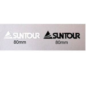 Suntour decals / transfers for rear stays, top tubes two per sale
